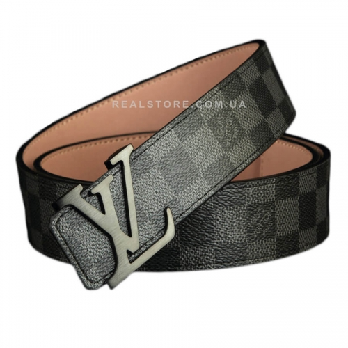 "Ремень Louis Vuitton ""Grey/Black"""
