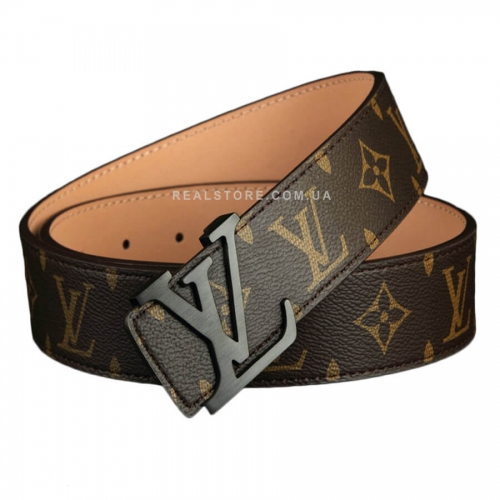 "Ремень Louis Vuitton ""BrownLVLV/Black"""