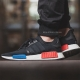 "Кроссовки Adidas NMD R1 Primeknit ""Core Black/Red"""