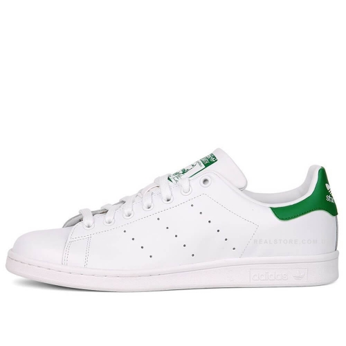 "Кроссовки Adidas Stan Smith Leather ""White/Green"""