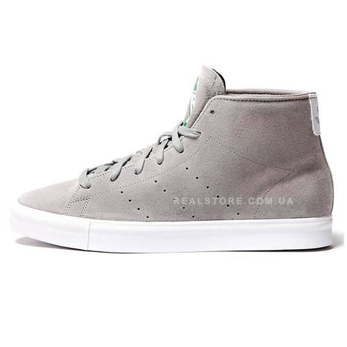 "Кроссовки Adidas Stan Smith Vulc Mid ""Grey"""