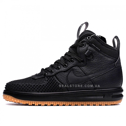 "Кроссовки Nike Air Force 1 Lunar Duckboot ""Black"""
