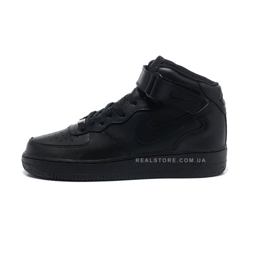 "Кроссовки Nike Air Force 1 Mid ""Black"""