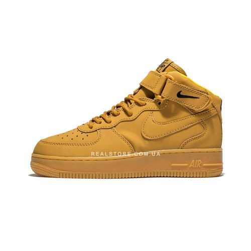 "Кроссовки Nike Air Force 1 Mid Flax ""Beige"""