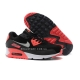 "Кроссовки Nike Air Max 90 PRM Tape ""Black/Red"""