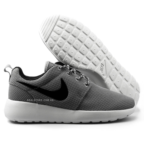 "Кроссовки Nike Roshe Run ""Gray/White"""