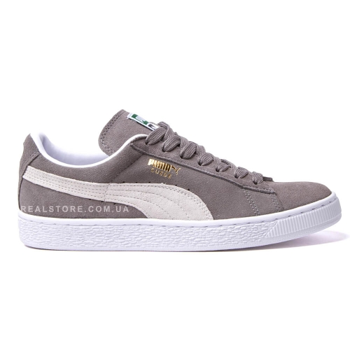 "Кроссовки Puma Suede ""Gray/White"""