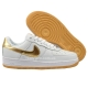 "Кроссовки Nike Air Force 1 Low ""White/Gold"""