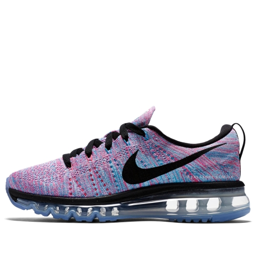 "Кроссовки Nike Wmns Air Max Flyknit 2014 ""Blue/Pink/Black"""