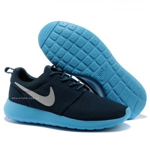 "Кроссовки Nike Roshe Run ""Blue/White"""