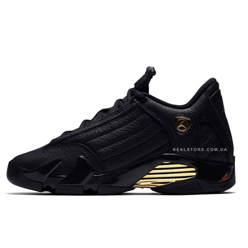 "Кроссовки Nike Air Jordan 14 Retro DMP ""Black/Gold"""