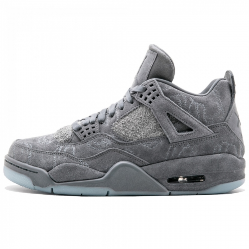 "Кроссовки Nike Air Jordan 4 Retro Kaws ""Grey"""