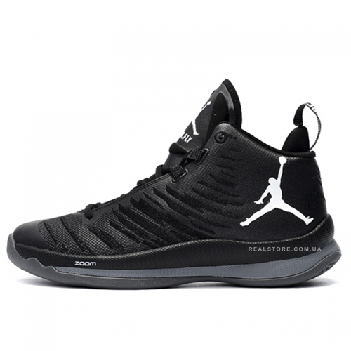 "Кроссовки Nike Air Jordan Super Fly 5 ""Black/White"""