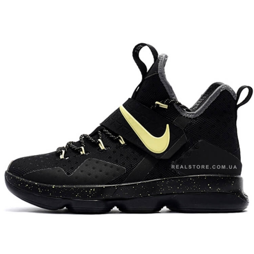 "Кроссовки Nike LeBron 14 ""Black/Yellow"""