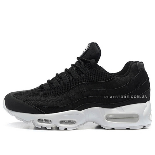 "Кроссовки Nike Air Max 95 x Stussy ""Black/White"""