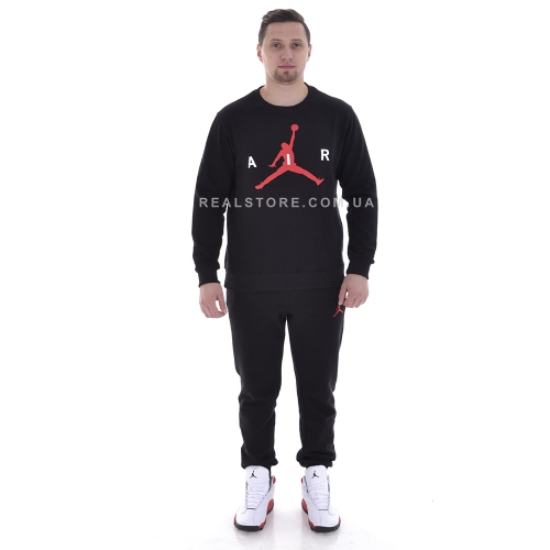 "Костюм с начесом Nike Air Jordan ""Black/Red"""