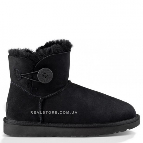 "UGG Bailey Button Mini ""Black"""