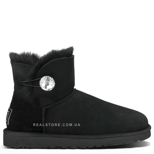"UGG Bailey Button Mini Bling ""Black"""