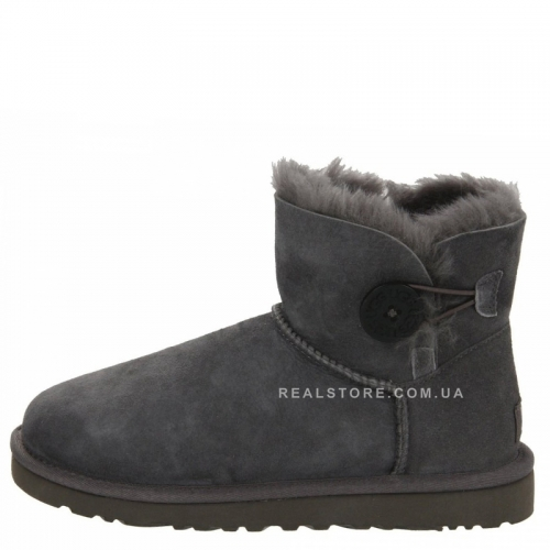 "UGG Bailey Button Mini ""Grey"""