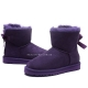 "UGG Mini Bailey Bow ""Purple"""