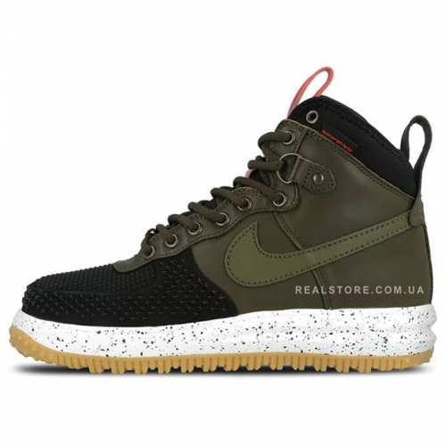 "Кроссовки Nike Air Force 1 Lunar Duckboot ""Green/Black"""