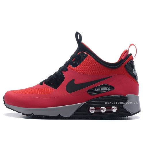 "Кроссовки Nike Air Max 90 MID Winter ""Red/Black"""