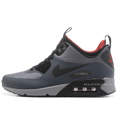 "Кроссовки Nike Air Max 90 MID Winter ""Carbon Grey"""
