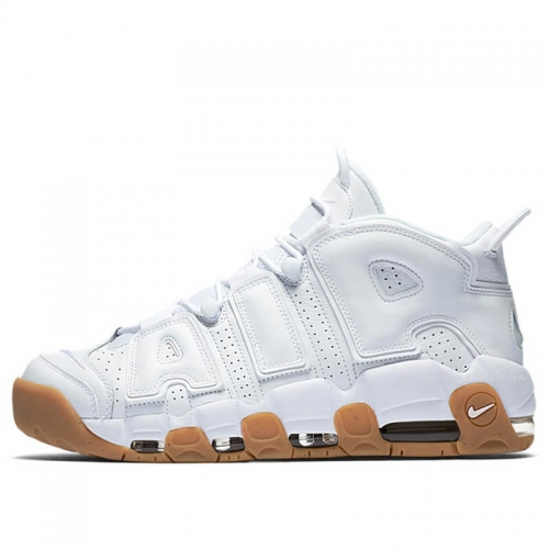 "Кроссовки Nike Air More Uptempo ""White/Gum"""