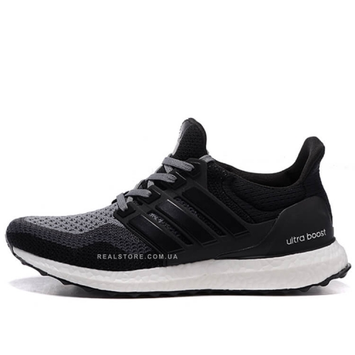 "Кроссовки Adidas Ultra Boost 2.0 ""Black/Grey"""