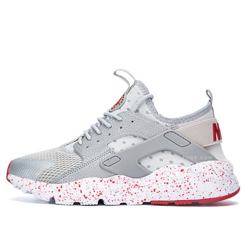 "Кроссовки Nike Air Huarache Ultra BR ""Light Grey/Red"""