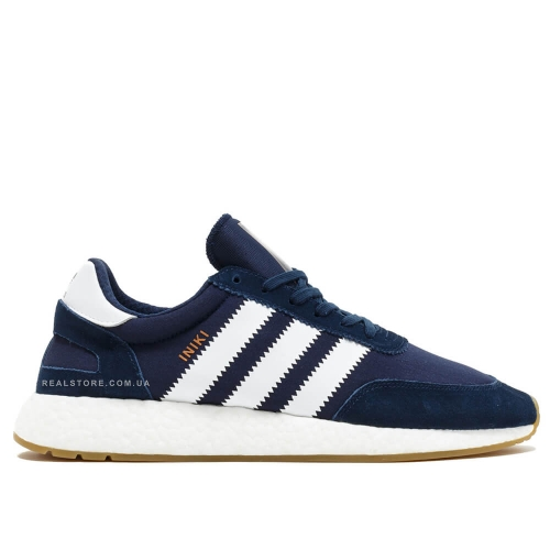 "Кроссовки Adidas Iniki Runner Boost ""Navy/White"""