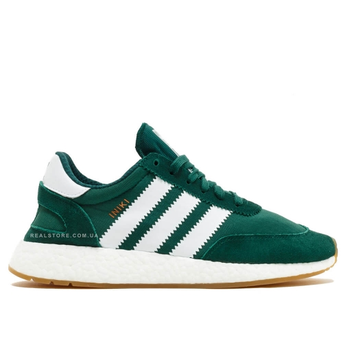 "Кроссовки Adidas Iniki Runner Collegiate ""Green/White"""
