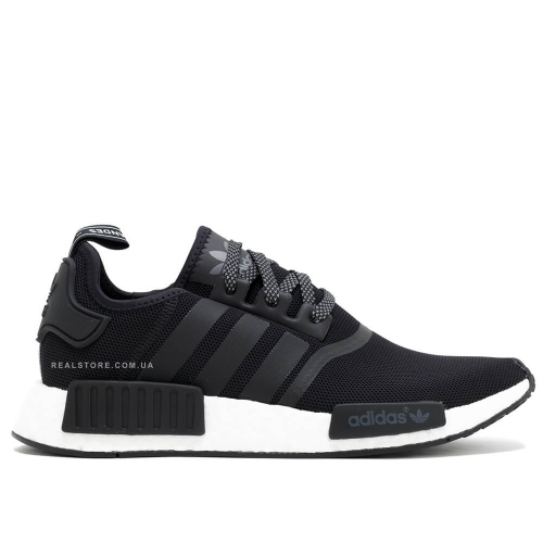 "Кроссовки Adidas NMD R1 Runner ""Black/White"""