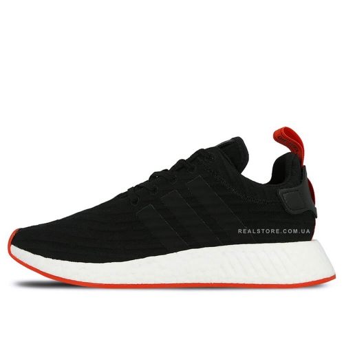 "Кроссовки Adidas NMD R2 PK ""Black/Red"""