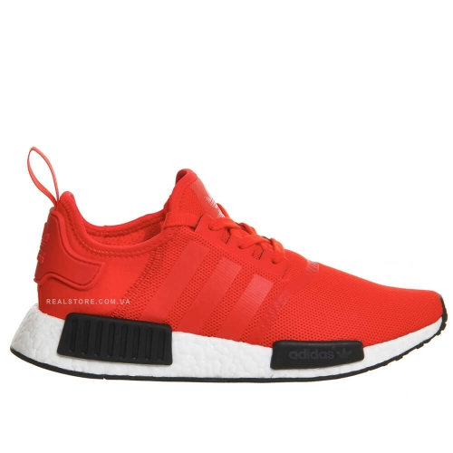 "Кроссовки Adidas NMD R1 ""Red/White"""