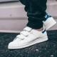 "Кроссовки Adidas Stan Smith CF ""White/Blue"""