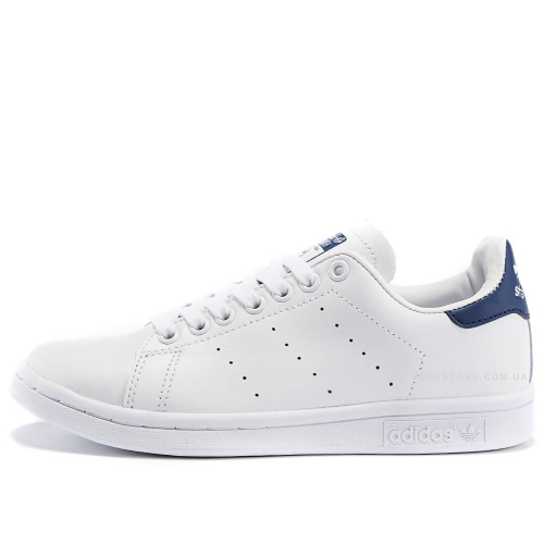 "Кроссовки Adidas Stan Smith Leather ""White/Navy"""