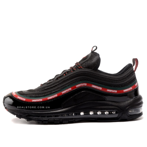 "Кроссовки Nike Air Max 97 x Undefeated ""Black"""