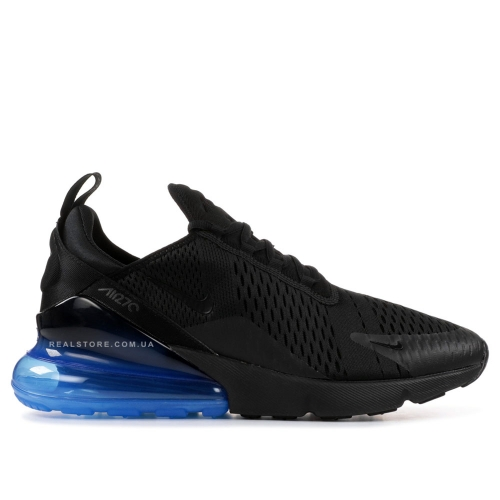 "Кроссовки Nike Air Max 270 ""Black/Photo Blue"""