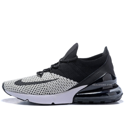 "Кроссовки Nike Air Max 270 Flyknit ""Black/White"""