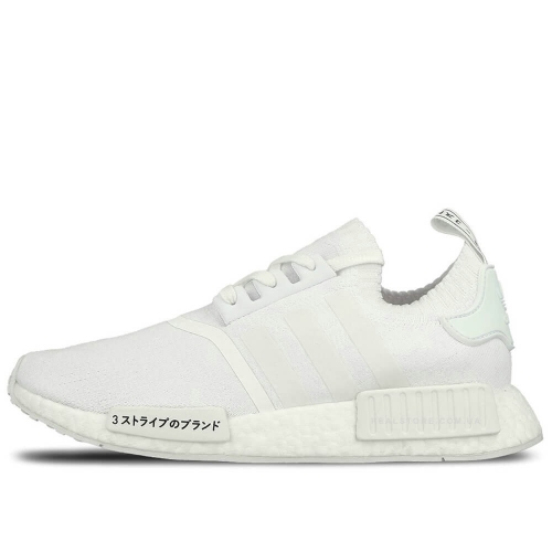 "Кроссовки Adidas NMD R1 Primeknit Japan ""All White"""