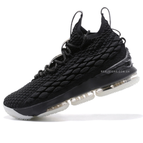 "Кроссовки Nike LeBron 15 ""Black/White"""