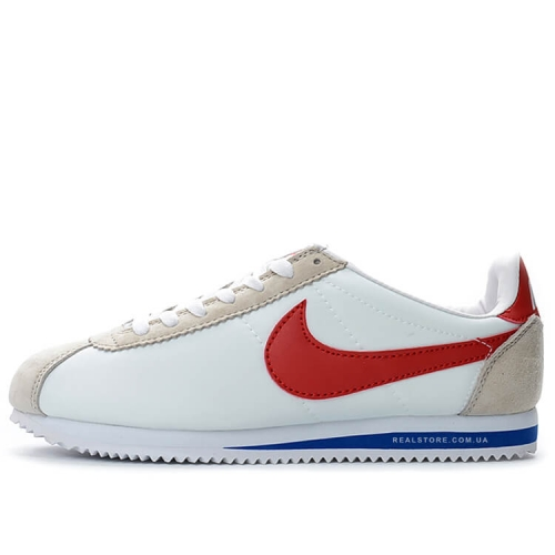 "Кроссовки Nike Classic Cortez Nylon ""White/Red/Blue"""